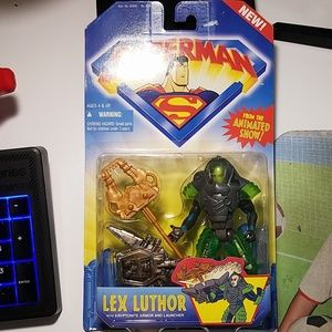 Lex Luthor from superman animated show